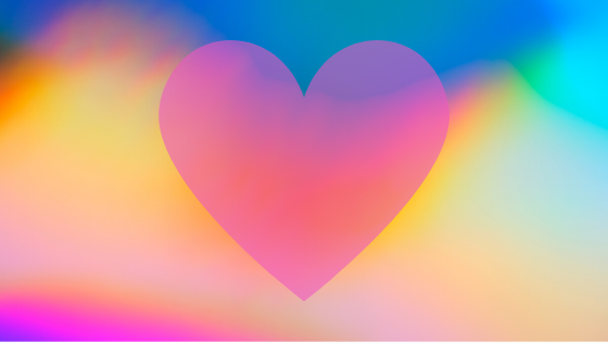 Heart Energy - Picture of a beautiful pastel heart