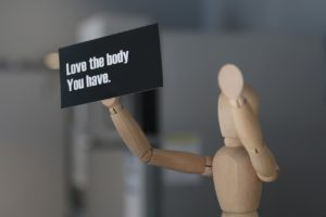 love your body sign