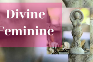 The Divine Feminine - picture of a beautiful goddess