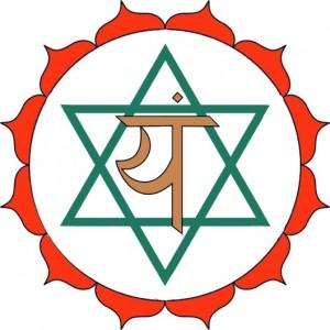 Fourth Chakra Sankrit Symbol