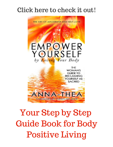 Picture of my book - Empower Yourself by Loving Your Body - click to check it out.