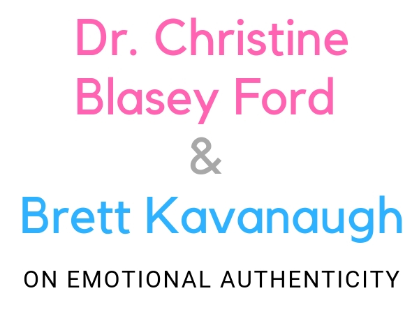 Dr. Christine Blasey Ford and Brett Kavanaugh