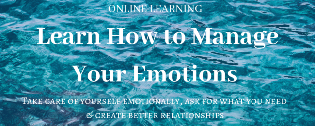 Learn how to manage your emotions online course