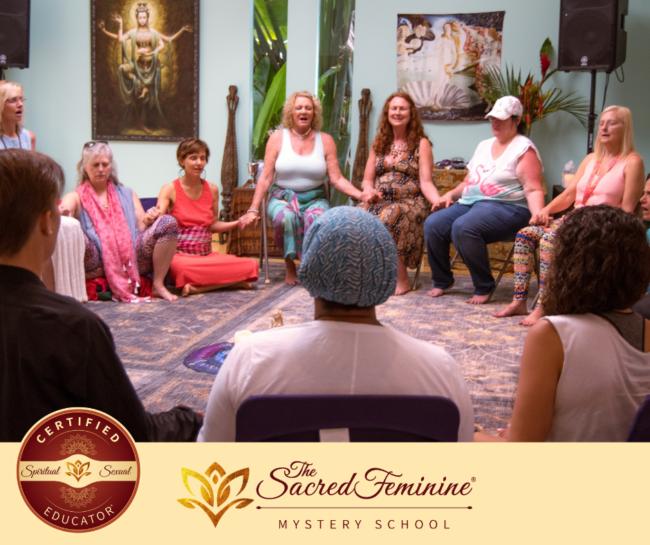 Divine Feminine Circle of women