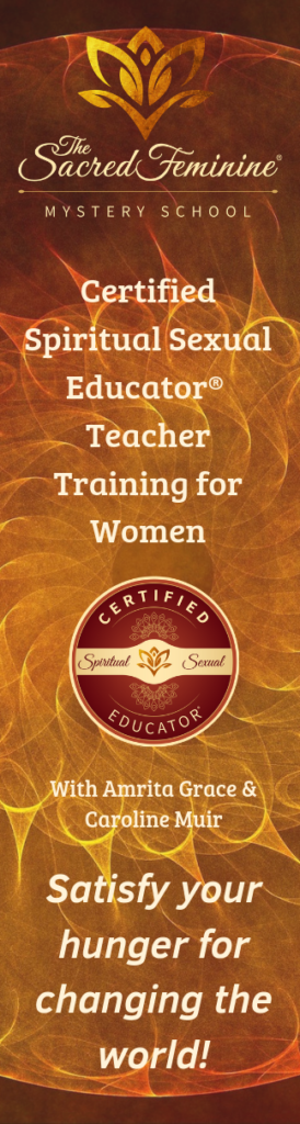 Banner for Sacred Feminine Certification program