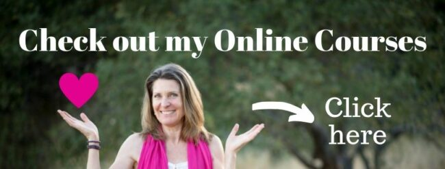 "Anna-Thea with words ""Check out my online courses - click here"""