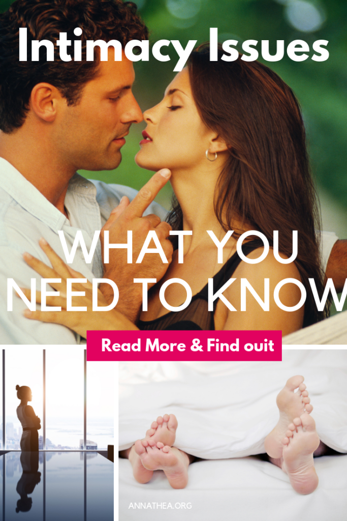 Intimacy Issues - What you need to know - Pinterest Banner