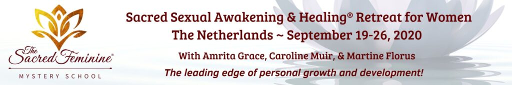 The Sacred Feminine Netherlands retreat.