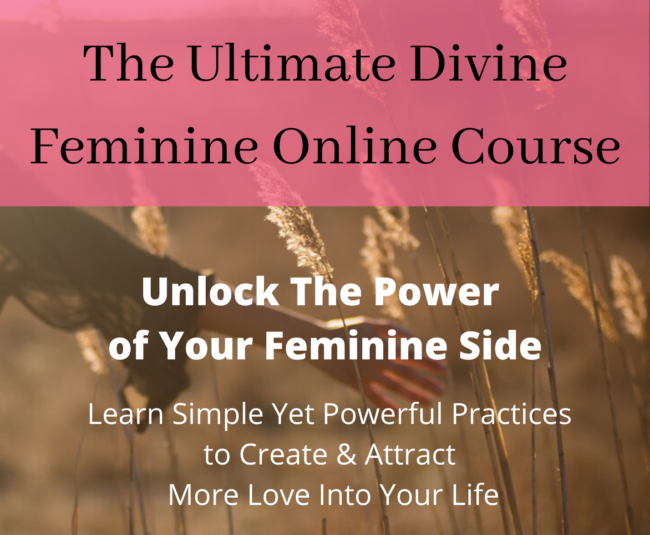 Unlock the Power of Your Feminine Side banner for online course