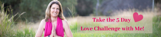 """Picture of Anna-Thea and the word """"Take the 5 Day Love Challenge with Me!"""""""